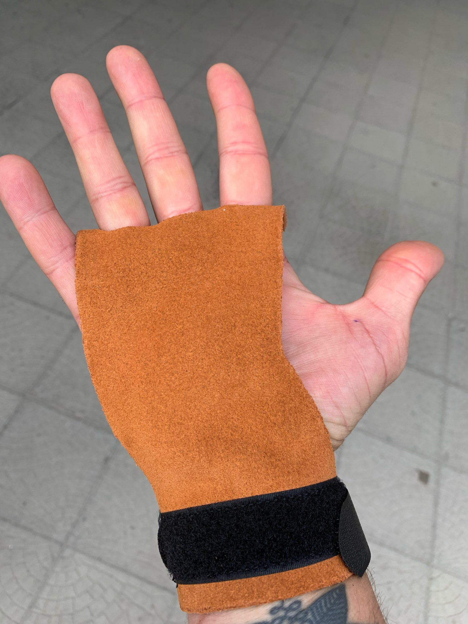 Gymnastics Hand Grips Weightlifting Workout photo review