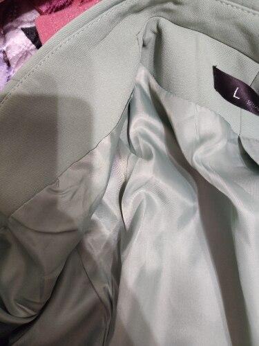 Green Female formal Women's Pants Suits Classic Office Lady Business Pantsuit Blazer Trouser Suit Set Work wear Uniform Costumes reviews №2 104031