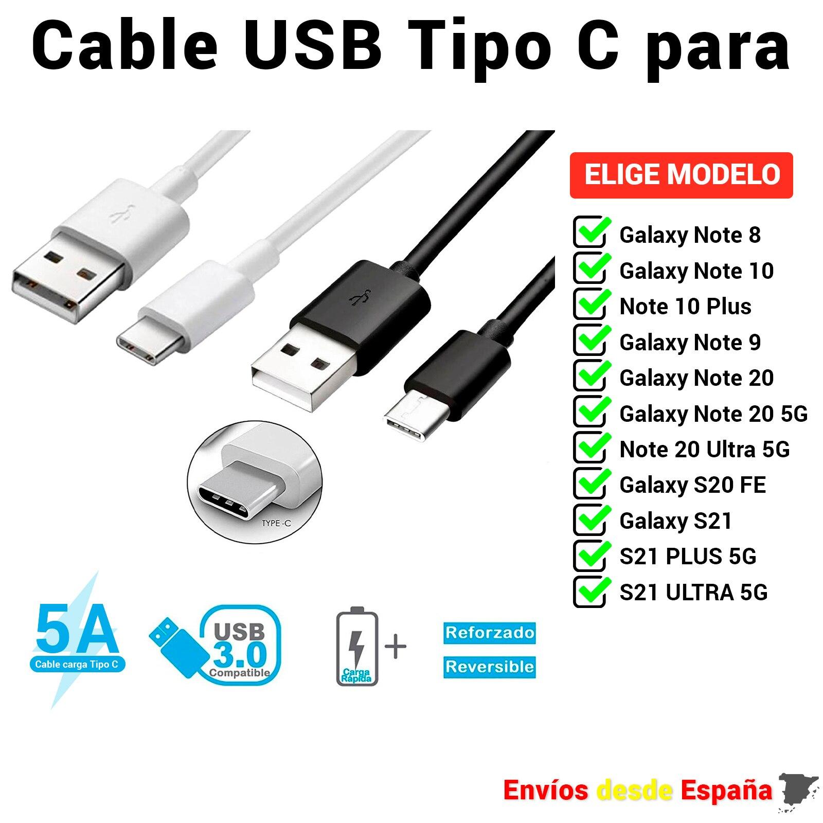 Кабель с разъемом USB типа C USB кабель для Samsung Galaxy Note 8 10 20 5G S21 S20 плюс. Для быстрой зарядки и мобильных данных 1 метр и 2 метра