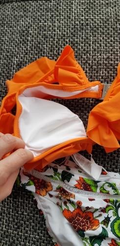 Ruffled Women's Bikini Set photo review