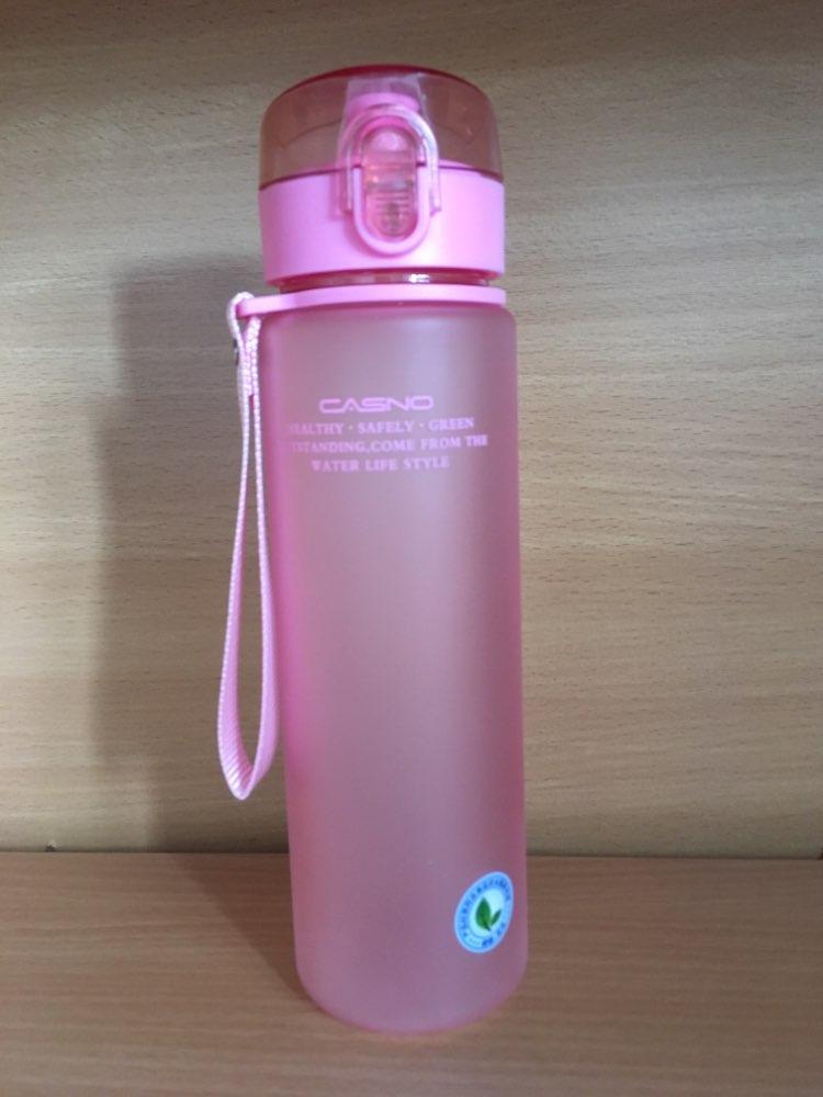 560ML 400ML Tour Outdoor School Leak Proof Sports Water Bottle Plastic Drinkware Hiking Portable Bottles-in Water Bottles from Home & Garden on AliExpress