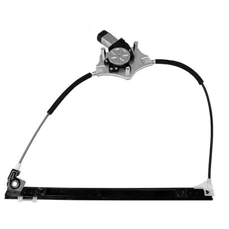Window lifter KSH-1830.0030149 RENAULT CLIO 03/98-09/05 2 P/IZQ with engine, Electric
