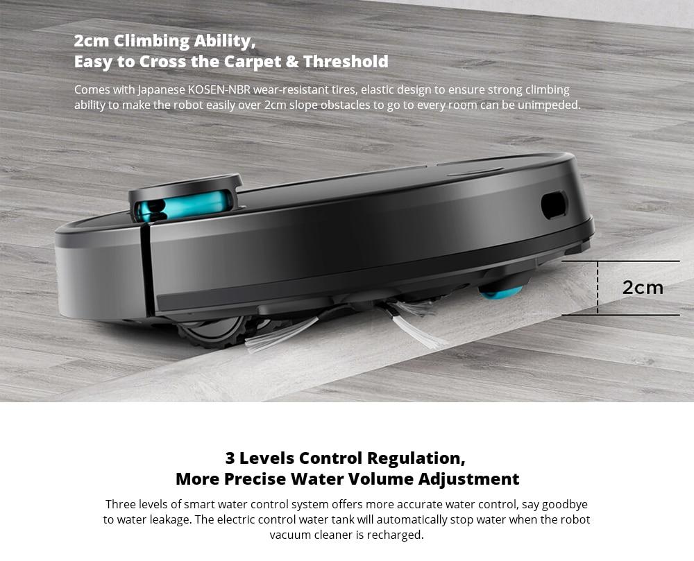 VIOMI V3 Robot Vacuum Mopping, 2600Pa, Quiet, Self-Charging Robotic Vacuum Cleaner, Cleans Hard Floors to Medium-Pile Carpets7