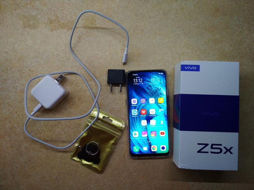 "Original vivo Z5x celular Mobile Phone 6.53"" Screen 6G 128G Snapdragon710 Octa Core Android 9 5000mAh Big Battery Smartphone|Cellphones| |  - AliExpress"
