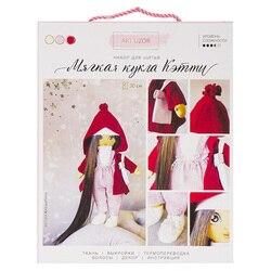 3548677 Интерьерная кукла «Кэтти», набор для шитья, 18*22.5*3 см