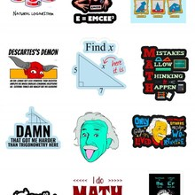 Bilim Sticker Seti