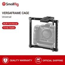 배터리 그립이있는 Canon/Nikon/Sony/Panasonic GH3/GH4/Fujifilm DSLR 카메라 용 SmallRig 범용 카메라 VersaFrame 케이지 1750
