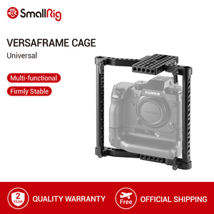 Image 1 - SmallRig Universalกล้องVersaFrame CageสำหรับCanon/Nikon/Sony/Panasonic GH3/GH4/Fujifilmกล้องDSLRแบตเตอรี่Grip 1750