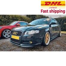 Audi S4 RS4 B7 A4 CUPRA R FRONT SPOILER LIP Euro Spoiler Lip Universal 3 stücke Körper Kit