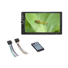 7 Inch Double 7018B 2 DIN Car FM Stereo Radio MP5 Player TouchScreen Multimedia player MP5 Player USB FM