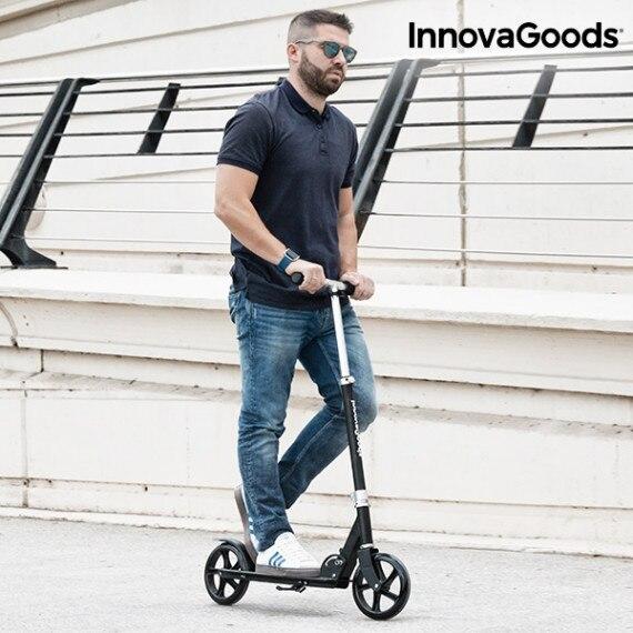 Electric Scooter Folding Pro InnovaGoods 7800 MAh 8,5 ''350 W Black IWebTrade
