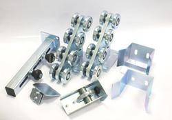KIT5 porte robuste autimotion accessoires porte en porte-à-faux rouleaux ensembles porte coulissante en porte-à-faux 600kg sans voie