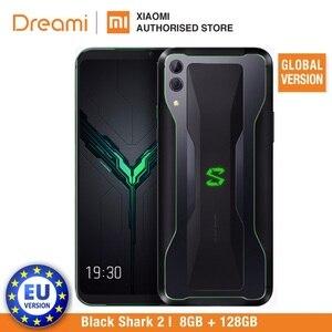 Image 3 - Global Version Xiaomi Black Shark 2 128GB Rom 8GB Ram Shadow Black Gaming phone (Brand New) blackshark2128 Smartphone Mobile