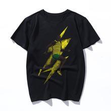 Самая быстрая свободная Мужская футболка из чистого хлопка o