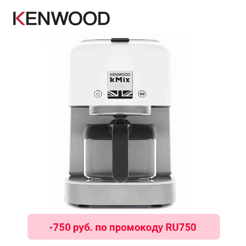 Drip Coffee Maker Kenwood KMix COX750WH Drip Coffee Maker Kitchen Automatic Coffee Machine Drip Espresso Coffee Machines Drip Coffee Maker Electric