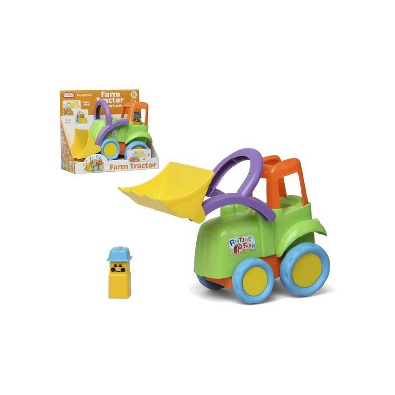 Crawler With Shovel Junior Knows 6928 Multicolour