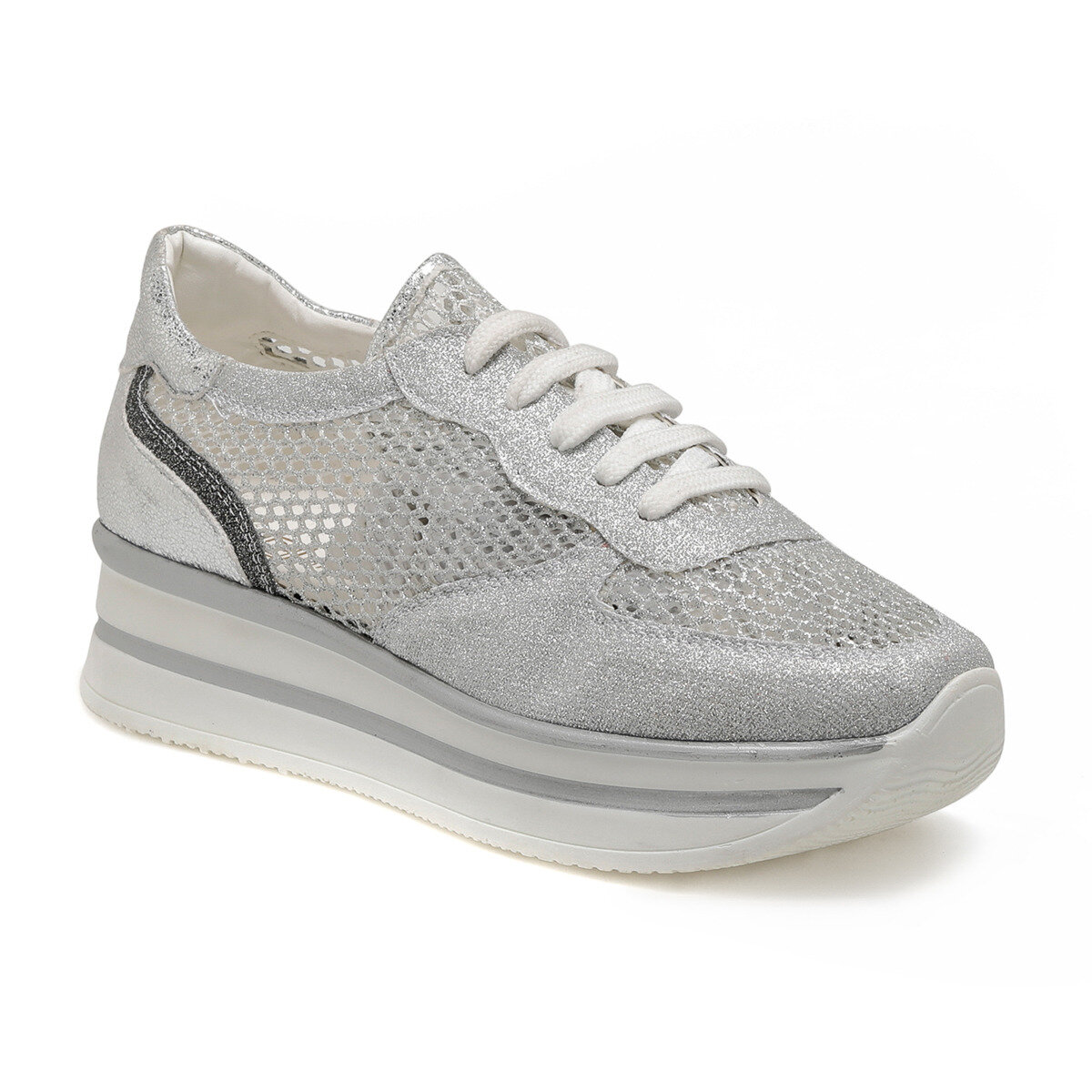 FLO 19S-003 Silver Women 'S Sneaker Shoes BUTIGO
