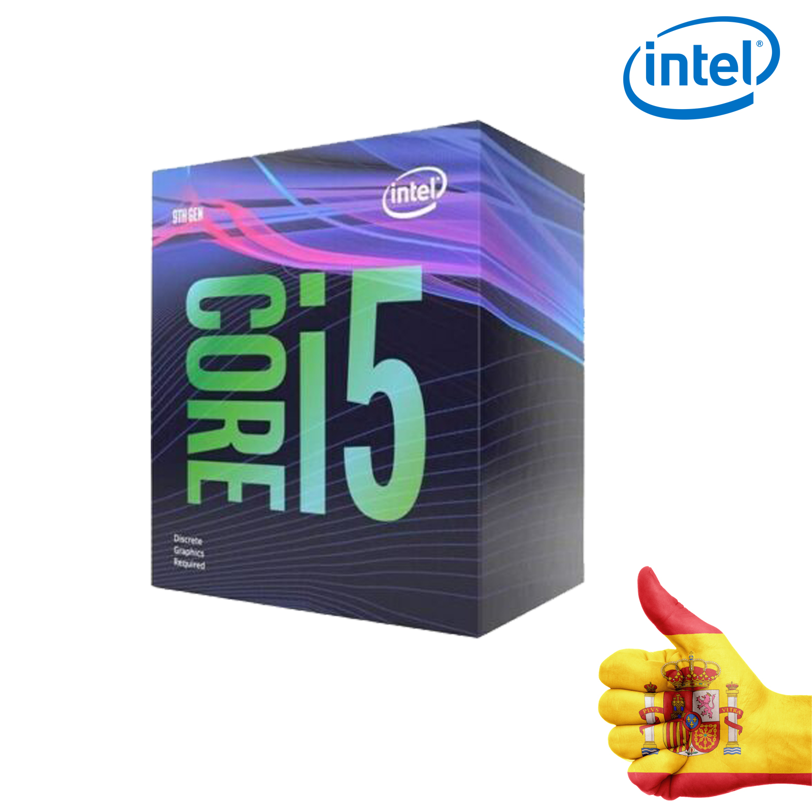 ORIGINAL <font><b>Intel</b></font> Core i5-9400F Socket LGA <font><b>1151</b></font> 2,9 GHz Processor image