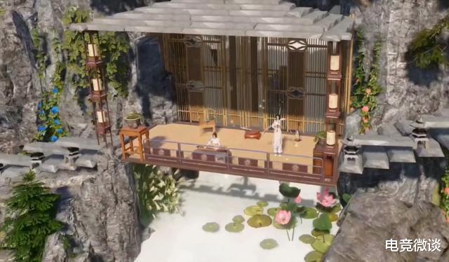 一梦江湖:住在山里真不错,以山为居的家园让无数玩家为之心动?插图(3)