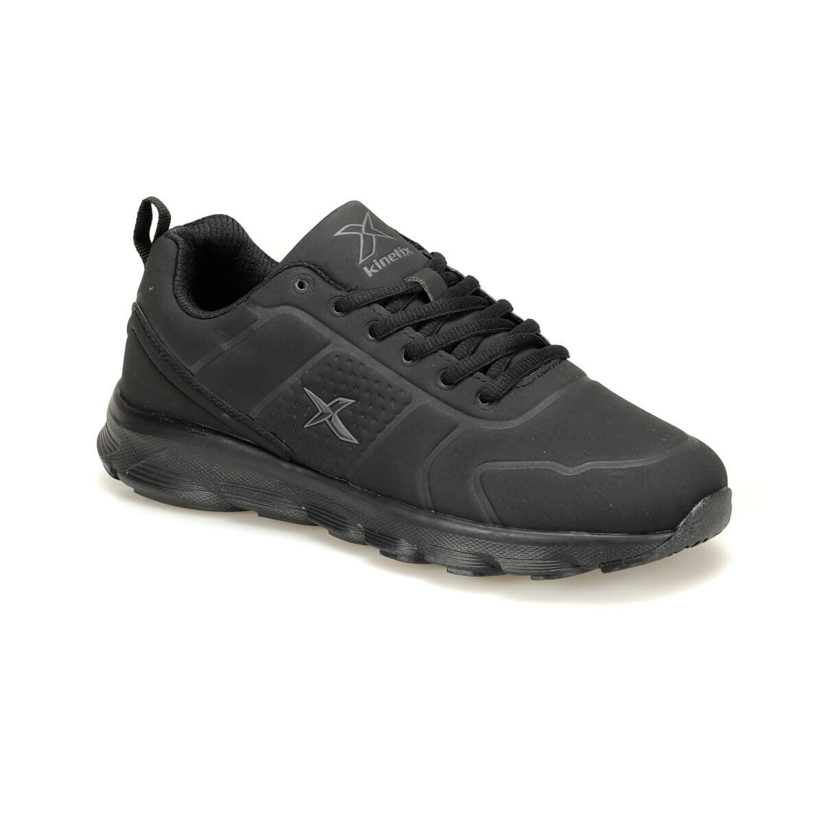 FLO ALMERA II Black Men 'S Sneaker Shoes KINETIX