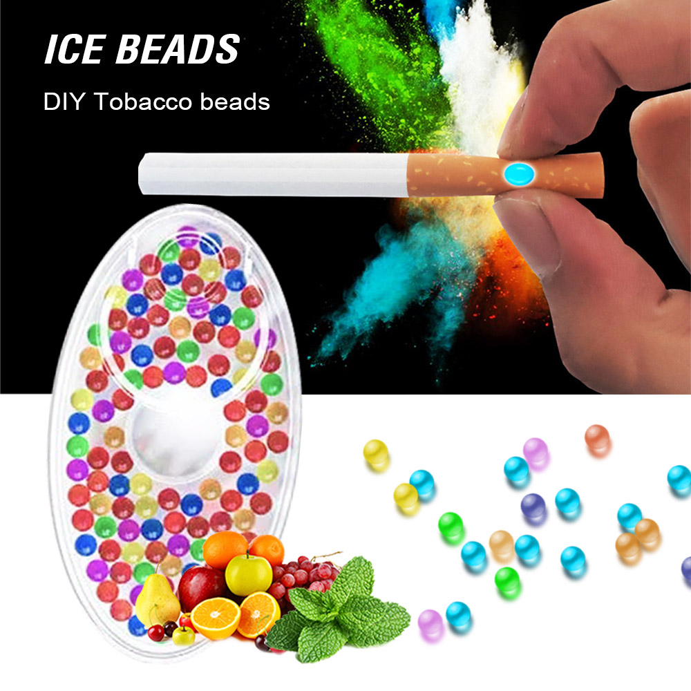 Capsule Tobacco-Holder Beads FILTER-SMOKING-TOOL Cigarette Mint-Flavor Pops 100pcs
