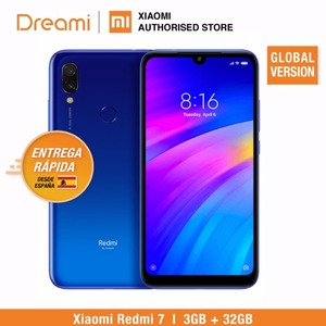 Image 2 - Global Version Xiaomi Redmi 7 32GB ROM 3GB RAM (Brand New and Sealed Box) RED COLOR