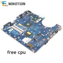 NOKOTION BA41-01039A BA92-05528A BA92-05528B BA92-05711A Für Samsung R522 R520 laptop motherboard GM45 DDR2 Freies cpu
