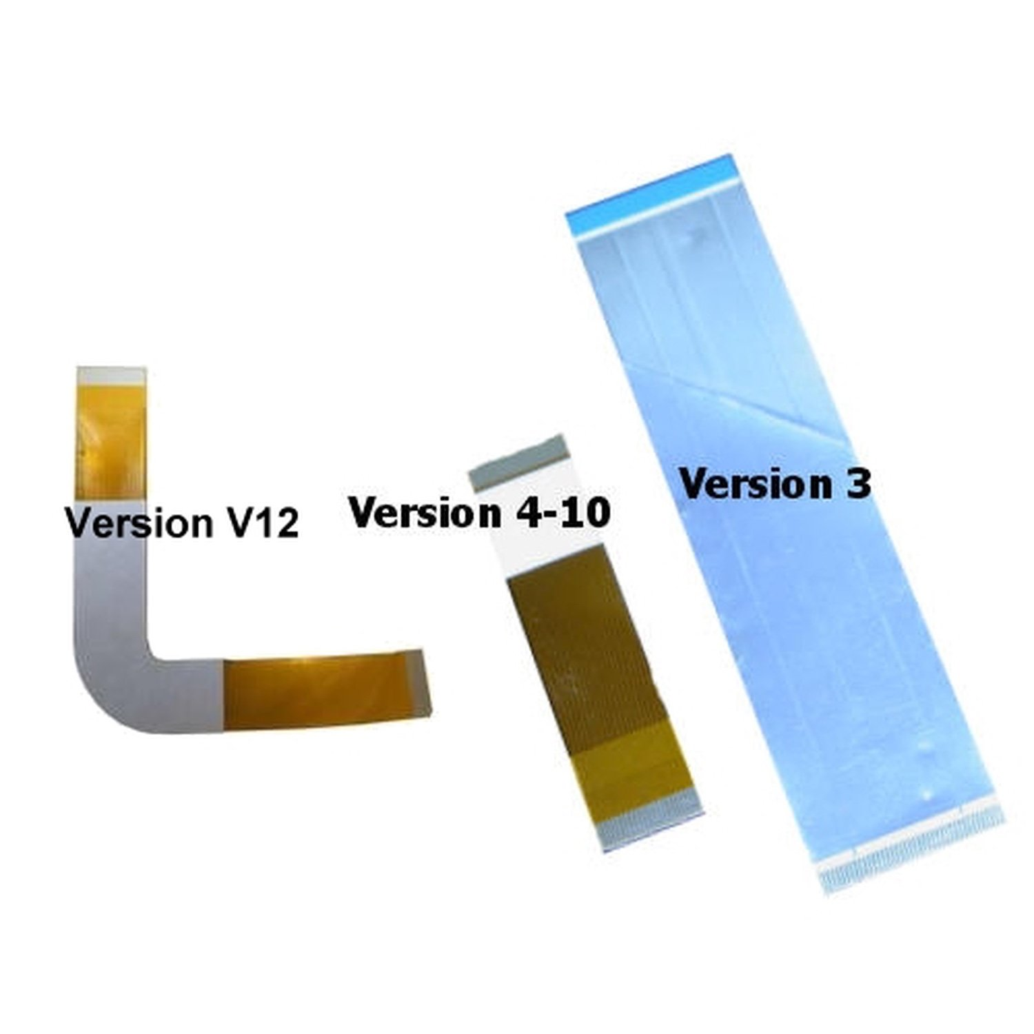 PS2 DVD/CD Cord Ribbon 3 versions aviable (v3), (v4-V10) & (v12-V13)