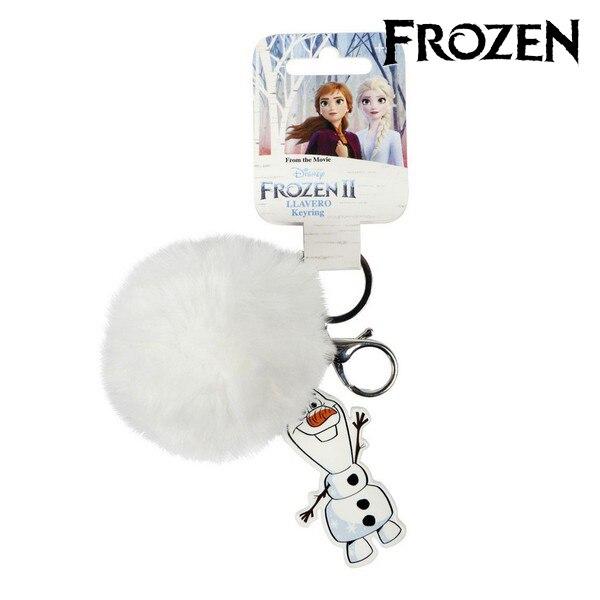 Cuddly Toy Keyring Olaf Frozen 74000 White