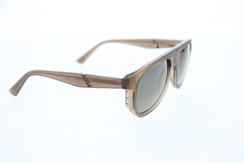 Men's sunglasses dl 0255 58c bone Brown organic drop pilot 56-17-140 diesel