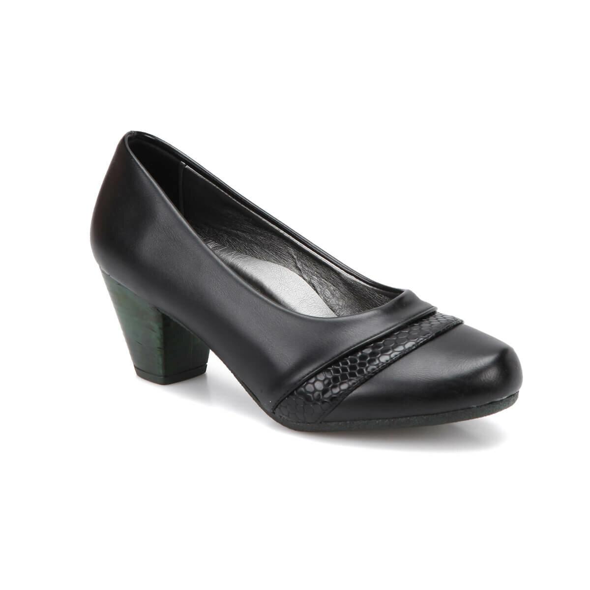 FLO 72.158111.Z Black Women Gova Shoes Polaris