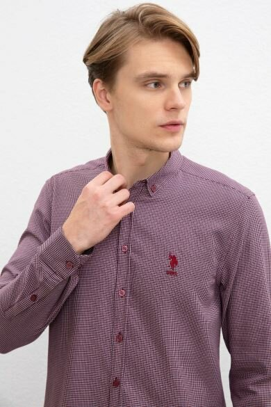 U.S. POLO ASSN. Dobby Slim Shirt
