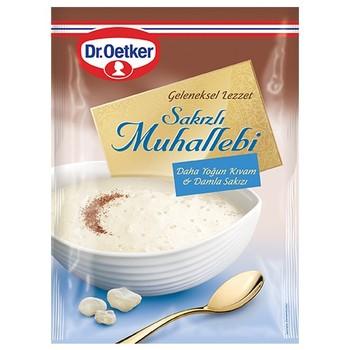 Muhallebi with Gum Mastic Turkish Instant Dessert 150 gr, intense texture, prepared with milk недорого