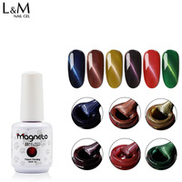 2017 Sale Magnetic Gel Beauty Gel Nails 10 Pcs Free Shipping Cat's Eyes Uv Gel Beautiful Nail Art Decorations Glitter 3d Magneto