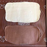 汤种奶香双色刀切的做法图解5