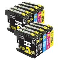 Brother LC1280 LC 1280 LC1240 Compatible Ink Cartridges LC1280XL For MFC J5910DW J6710DW J825DW J625DW J430W Printer