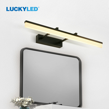 LUCKYLED Dimmable Led Wall Light 40CM 50CM 60CM AC 85-265V Led Mirror Light for Bathroom Sconce Lamp Acrylic Lights for Bedroom