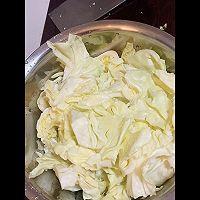醋溜圆白菜的做法图解3