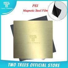 Kaldırma yay çeliği PEI sac önceden uygulanmış pei esnek manyetik tabanı CR10 pei levha 3d yazıcı safir bluer sıcak yatak Sticker