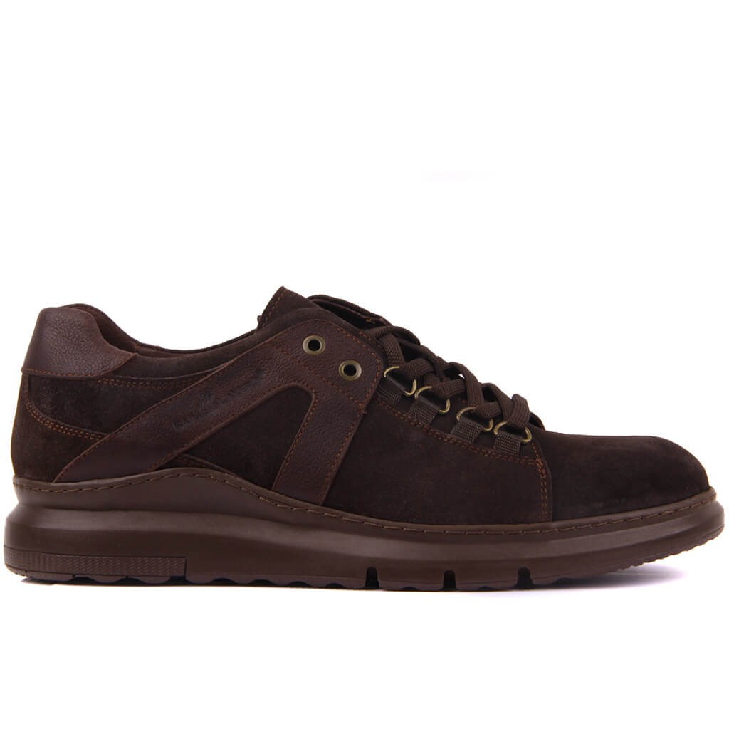 Sail Lakers-Brown Suede Casual Shoes