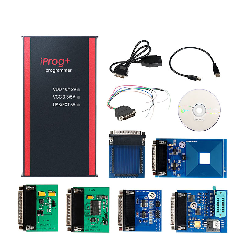 Image 4 - Best Price iPROG+ Prog Programmer Updated V77 iProg Supports IMMO/Mileage Correction/Airbag Reset Replace Carprog/Digiprog/Tango-in Air Bag Scan Tools & Simulators from Automobiles & Motorcycles