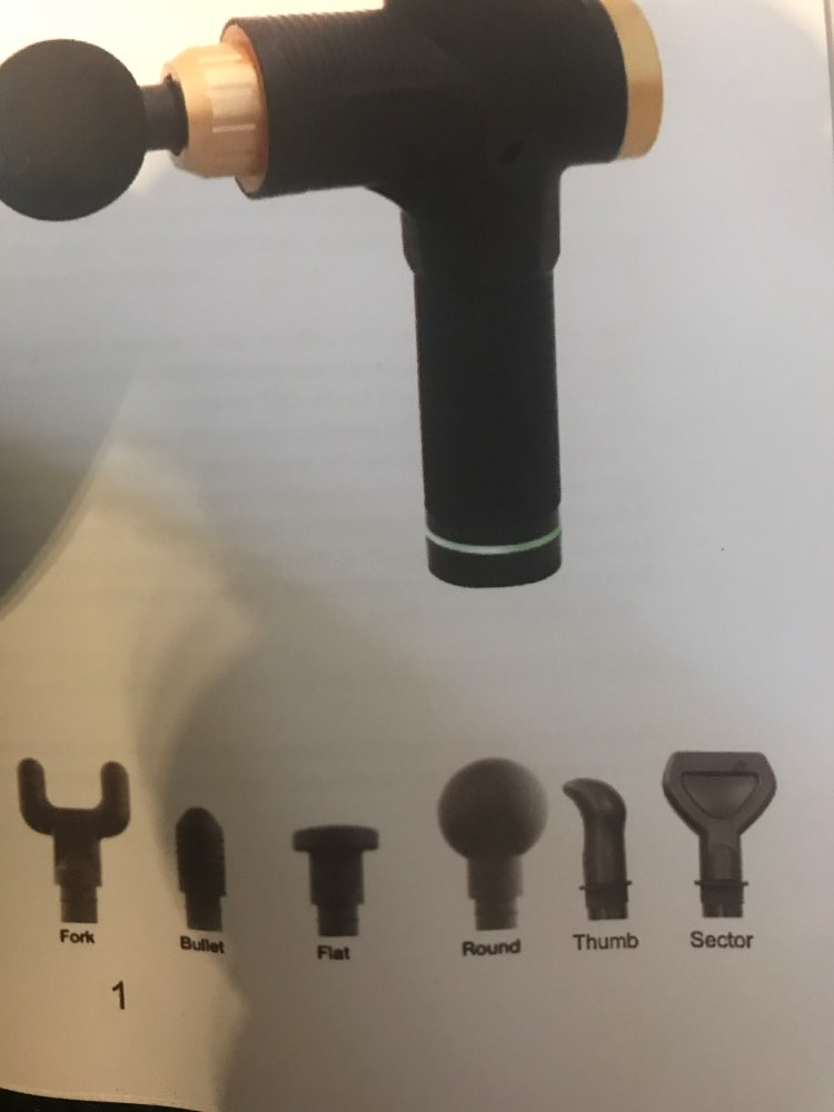 Pistolet de massage à percussion sans fil