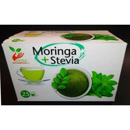 Bolsitas de Moringa con Estevia