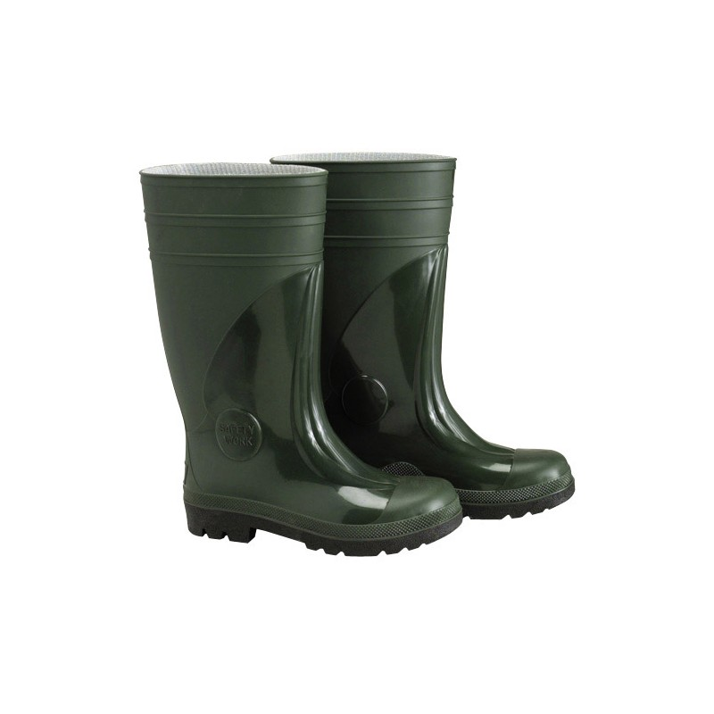 Rubber Boots Green High Security NO. 44 (Pair)