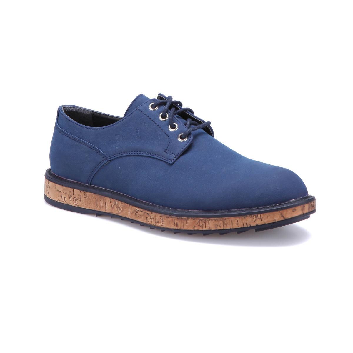 FLO VT-1 Navy Blue Men 'S Modern Shoes-Styles