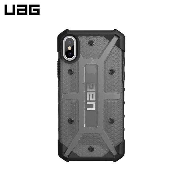 Защитный чехол UAG для iPhone XS Max серия Plasma цвет пепельный/111103113131/32/4