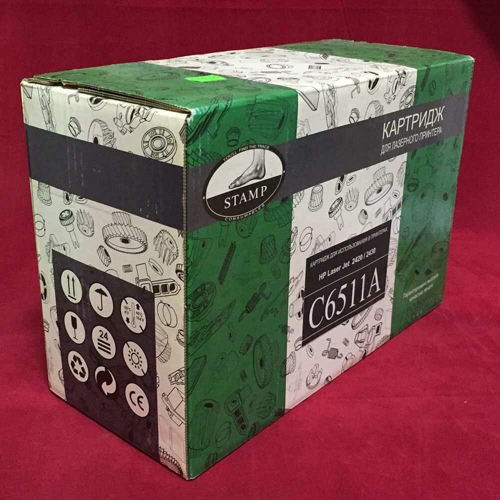Картридж Stamp совместимый C6511A для HP Laser Jet 2420/2430 черный, 3000к