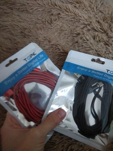 TOPK LED Magnetic USB Cable , Magnet Plug & USB Type C Cable & Micro USB Cable & USB Cable for iPhone X 8 7 6 Plus|Mobile Phone Cables|   - AliExpress