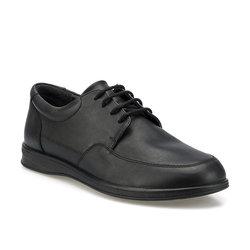 Zapatos FLO negros clásicos para hombre, zapatos planos de vestir para hombre, zapatos de cuero tallado italiano Formal Oxford primavera Otoño Invierno Polaris 160000.M