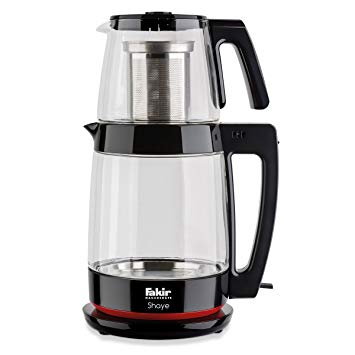Shaye Glass Tea Maker Black